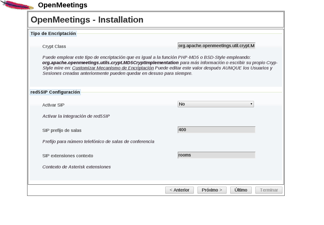 OpenMeetings 3 0 3 en Debian 7 - Improvisa